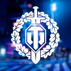 Наклейка с логотипом World of Tanks