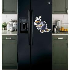 "Наклейка на холодильник ""Wow!"""