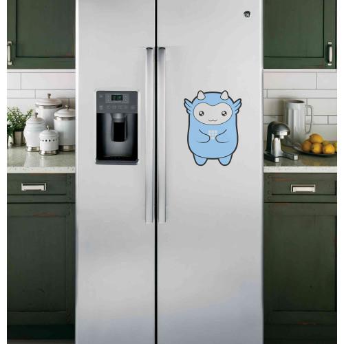 """Наклейка на холодильник """"Монстрик"""""""