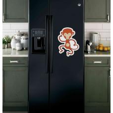 "Наклейка на холодильник ""Обезьяна"""