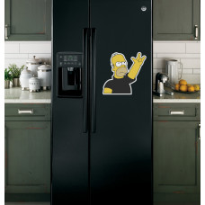 "Наклейка на холодильник ""Гомер"""
