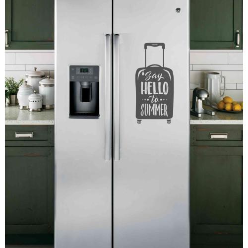 """Наклейка на холодильник """"Say HELLO to SUMMER"""""""