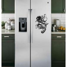 """Наклейка на холодильник """"Wild Ones"""""""