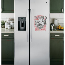 "Наклейка на холодильник ""THE WILD 1"""
