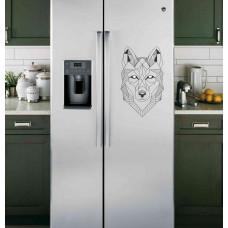 """Наклейка на холодильник """"Орнамент волка"""""""