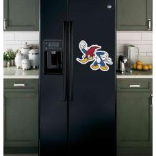 "Наклейка на холодильник ""Дятел Woody"""