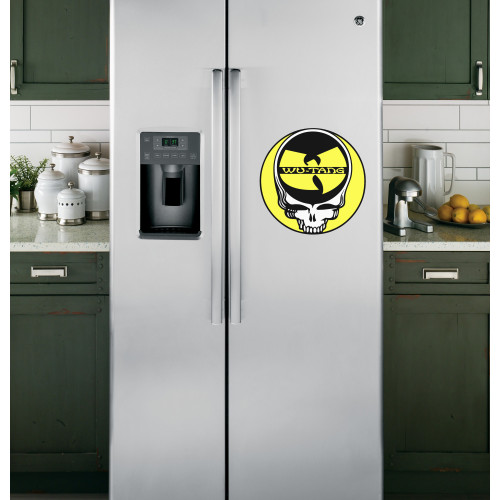 "Наклейка на холодильник Белая ""Wo-Tans"""