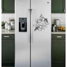 """Наклейка на холодильник """"You and Me"""""""