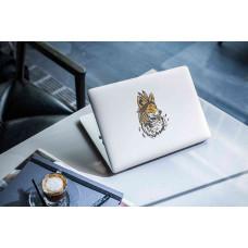 """Наклейка на ноутбук """"Лиса"""""""