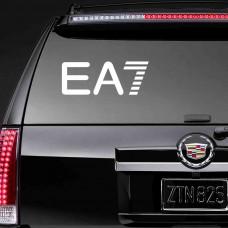 """Наклейка на стекло """"EA7"""""""