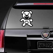 """Наклейка на стекло """"Медведь"""""""