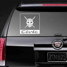 """Виниловая наклейка """"Civic"""""""