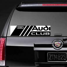 """Наклейка на стекло """"Audi Club"""""""