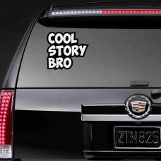 """Виниловая наклейка """"Cool Story Bro"""""""