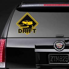 """Виниловая наклейка """"Drift"""""""