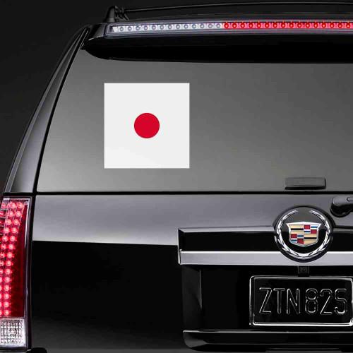 """Наклейка на стекло """"Флаг Японии"""""""