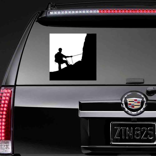 """Наклейка на авто """"Альпинист"""""""