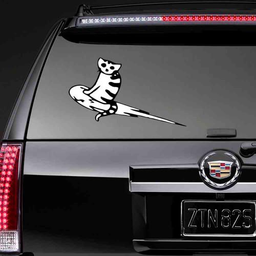 "Наклейка на авто ""Cosmo Cat"""