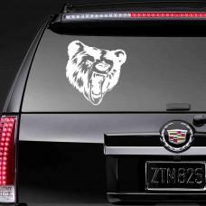 """Виниловая наклейка на авто """"Медведь"""""""