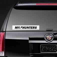 """Виниловая наклейка """"Milfhunters"""""""
