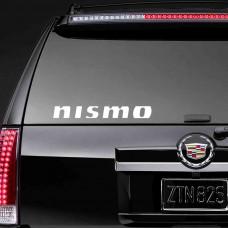 """Наклейка на стекло """"Nismo"""""""