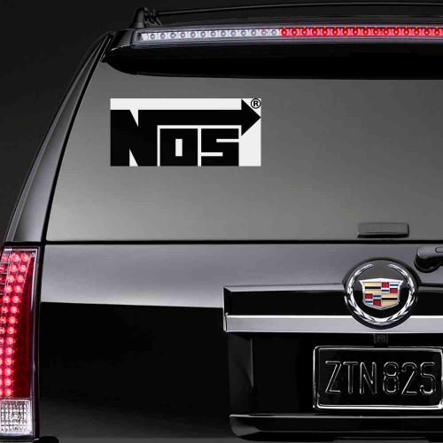 """Наклейка на авто """"Nos"""""""