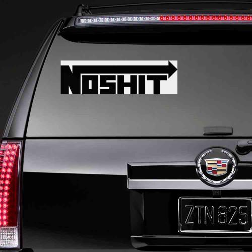 "Наклейка на авто ""Noshit"""
