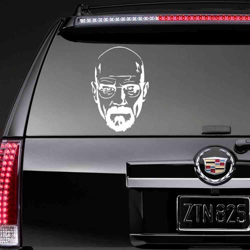"""Наклейка на авто """"Heizenberg"""""""