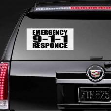 """Виниловая наклейка """"Emergency Responce"""""""