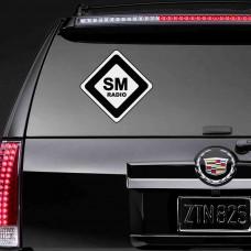 "Наклейка на стекло ""SM Radio"""