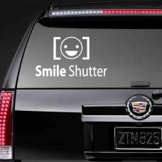 """Виниловая наклейка """"Smile Shutter"""""""