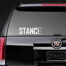 """Наклейка на стекло """"Stance"""""""