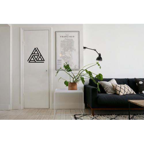 "Наклейка на дверь ""Символ парадокса"""