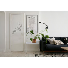 "Наклейка на дверь ""Антилопа"""