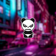 "Наклейка на авто ""Злая Панда"""