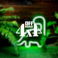"""Наклейка на авто """"Off road 4x4"""""""