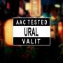 """Наклейка на авто """"AAC TESTED URAL VALIT"""""""