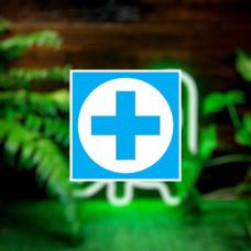 """Наклейка на авто """"Медицинский крест"""""""