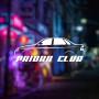 "Наклейка на авто ""Priora Club"""