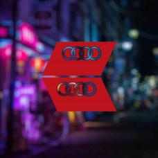"""Наклейка """"Audi"""""""