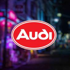 """Наклейка на авто """"Audi"""""""