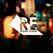 """Наклейка на авто """"Rotary Engine"""""""