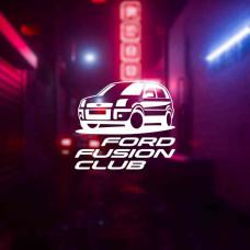 "Наклейка на авто ""Ford Fusion Club"""