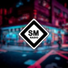 """Наклейка на авто """"SM Radio"""""""