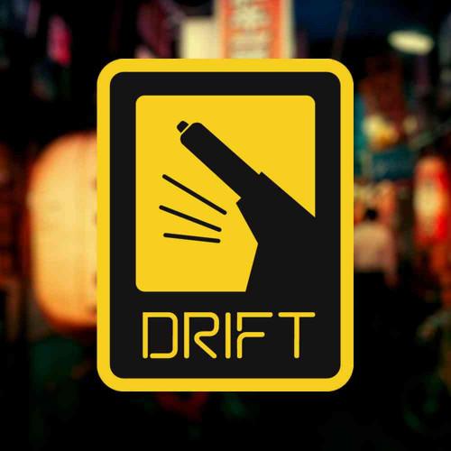 """Наклейка """"DRIFT"""""""