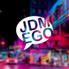 """Наклейка на авто """"JDM EGO"""""""