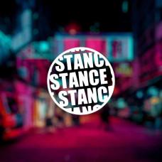 "Наклейка ""Stance"""