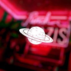 """Наклейка на авто """"Сатурн"""""""