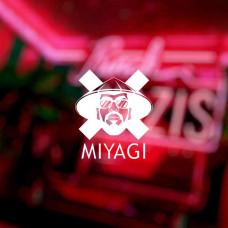 "Наклейка на авто ""MIYAGI"""