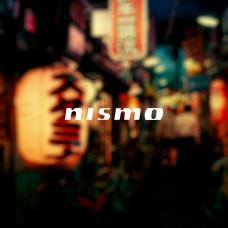 """Наклейка на авто """"Nismo"""""""